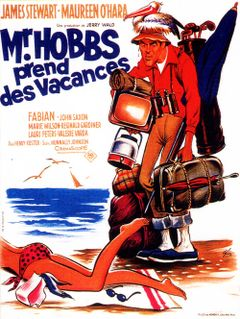 Affiche Monsieur Hobbs prend des vacances