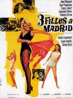 Affiche Trois filles à Madrid