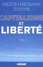 Couverture Capitalisme et liberté