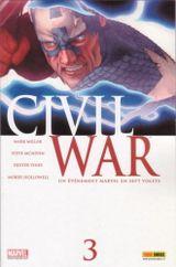Couverture La Mort de Captain America - Civil War, tome 3