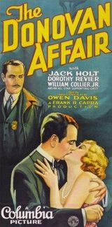 Affiche The Donovan Affair