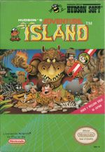 Jaquette Adventure Island