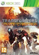Jaquette Transformers : La Chute de Cybertron