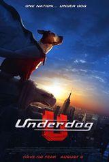 Affiche Underdog, chien volant non identifié