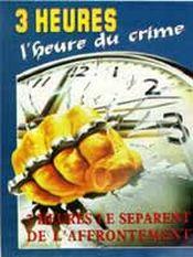 Affiche Trois heures, l'heure du crime