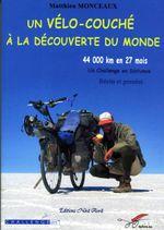 Couverture Un vélo couché à la découverte du monde