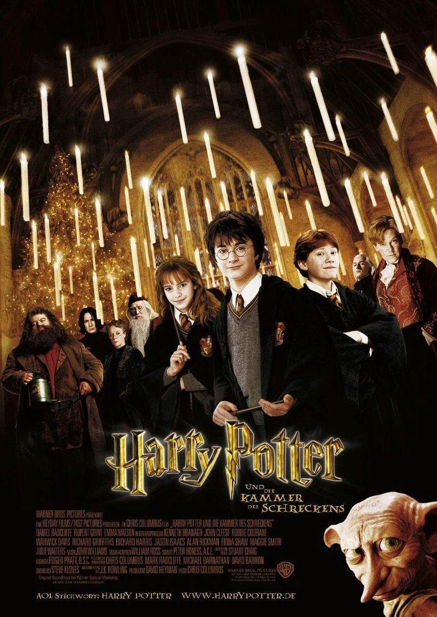 Affiches posters et images de harry potter et la chambre for Chambre harry potter
