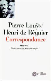 Couverture Correspondance 1890-1913