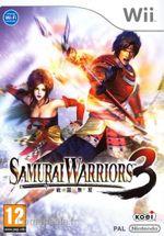 Jaquette Samurai Warriors 3