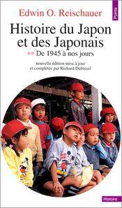 Couverture Histoire du Japon et des Japonais, tome 2 : De 1945 à nos jours