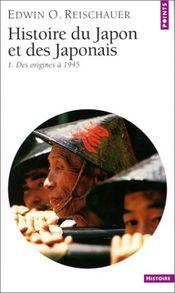 Couverture Histoire du Japon et des Japonais, tome 1