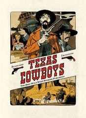 Couverture Texas Cowboys, tome 1