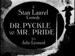 Affiche Dr. Pyckle and Mr. Pride