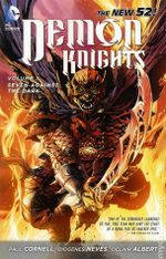 Couverture Seven Against The Dark - Demon Knights, tome 1
