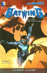Couverture The Lost Kingdom - Batwing, tome 1