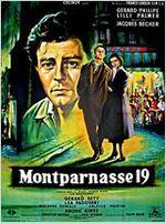 Affiche Montparnasse 19