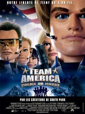Affiche Team America : Police du monde