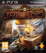 Jaquette MotorStorm : Apocalypse