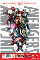 Couverture Uncanny Avengers (2012 - 2014)