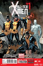 Couverture All-New X-Men (2012 - 2015)