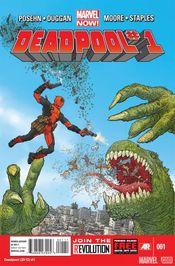 Couverture Deadpool (2012 - 2015)