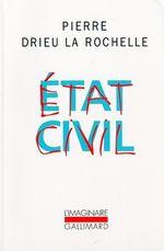 Couverture Etat civil