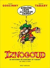 Couverture Iznogoud : 25 histoires de Goscinny et Tabary de 1962 à 1978