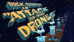 "Affiche Duck Dodgers in ""Attack of the Drones"""