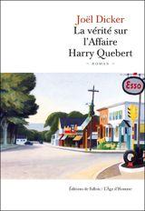Couverture La Vérité sur l'affaire Harry Quebert