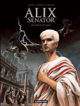 Couverture Les Aigles de sang - Alix Senator, tome 1