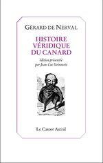 Couverture Histoire véridique du canard, et autres textes