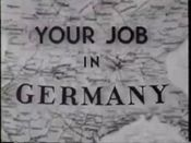 Affiche Your job in Germany