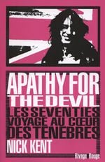 Couverture Apathy for the Devil