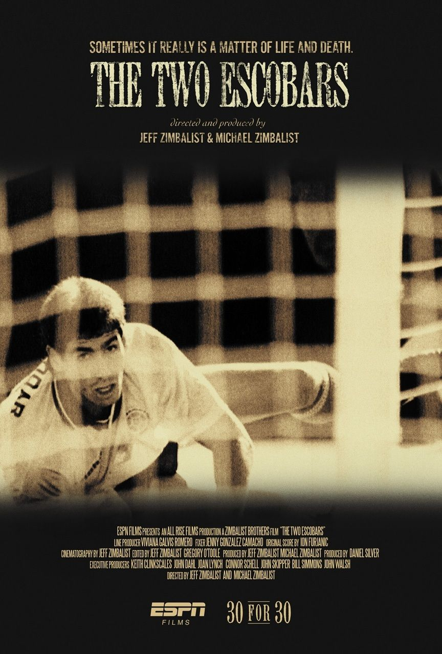 SensCritique Films Sport ESPN 30 for 30 : The Two Escobars