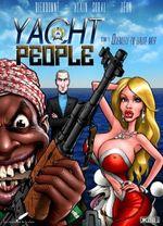 Couverture Quenelle en haute mer - Yacht People, tome 1