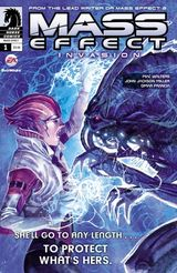 Couverture Mass Effect : Invasion