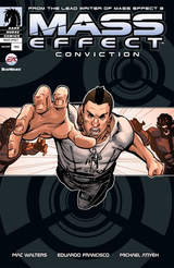 Couverture Mass Effect : Conviction