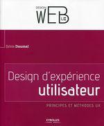 Couverture Design d'expérience utilisateur