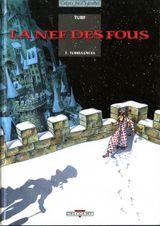 Couverture Turbulences - La Nef des fous, tome 3