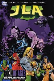 Couverture JLA - Rock of Ages