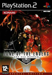 Jaquette Zone of the Enders : The 2nd Runner