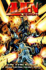 Couverture On the Edge - Alien Legion