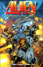 Couverture Tenants of Hell - Alien Legion
