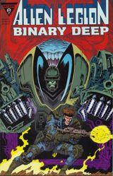 Couverture Binary Deep - Alien Legion
