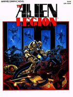 Couverture A Grey Day To Die - Alien Legion