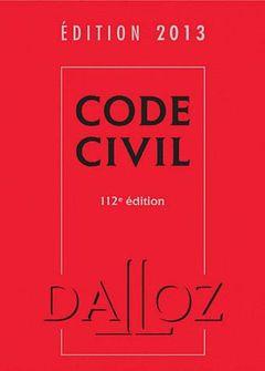 Couverture Code civil