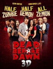 Affiche Dead Before Dawn 3D
