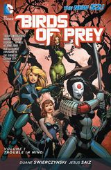 Couverture Trouble In Mind - Birds of Prey, tome 1