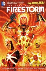 Couverture God Particle - The Fury of Firestorm: The Nuclear Men, tome 1
