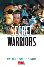 Couverture Nick Fury : Seul contre tous - Secret Warriors, tome 1